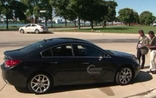 GM Vehicle to Vehicle Demo (V2V)