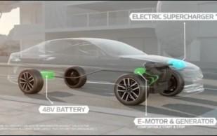 Kia Optima T-Hybrid Show Car