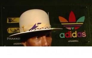 Pharrell Williams and adidas Celebrate Collaboration in LA