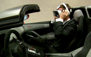 Samsung and Lamborghini come together to create the first virtual driving experience